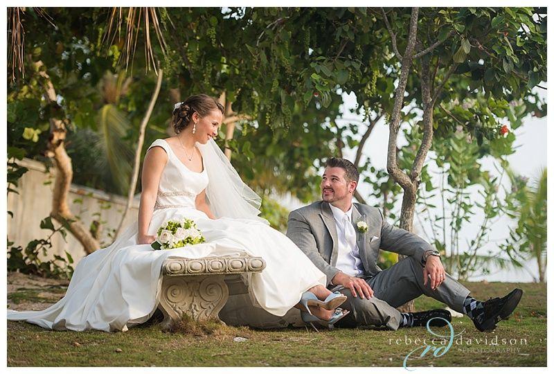 Cayman Island Wedding Ritzy I Dos: Wedding Ceremony At Pappagallo Restaurant Cayman Islands